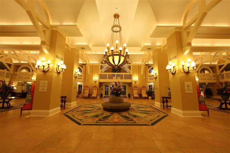 Disneys Beach Club Resort Lobby