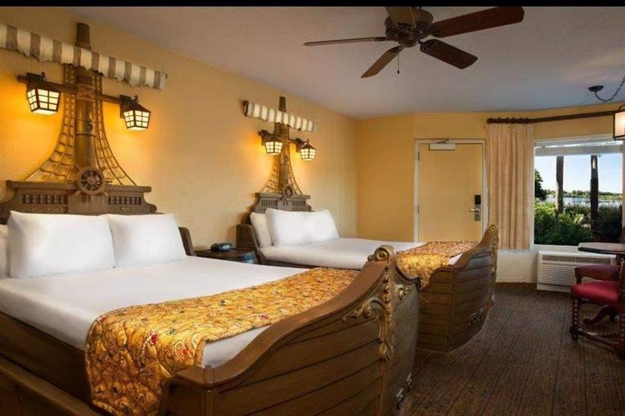 Disneys Caribbean Beach Resort Twin Bedroom