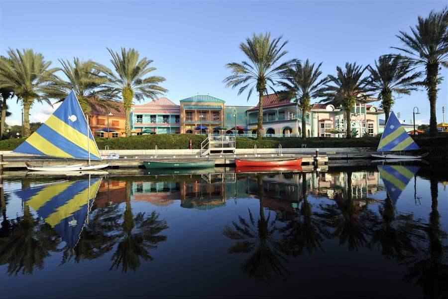Disneys Caribbean Beach Resort View