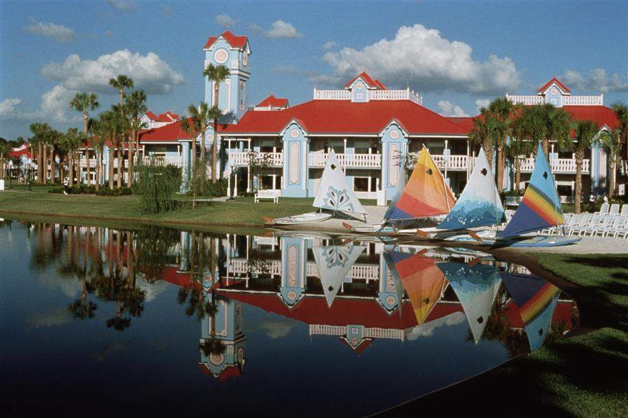 Disneys Caribbean Beach Resort Hotel Exterior