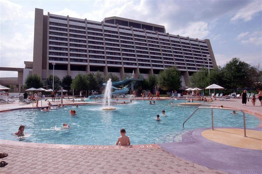 Disneys Contemporary Resort Pool