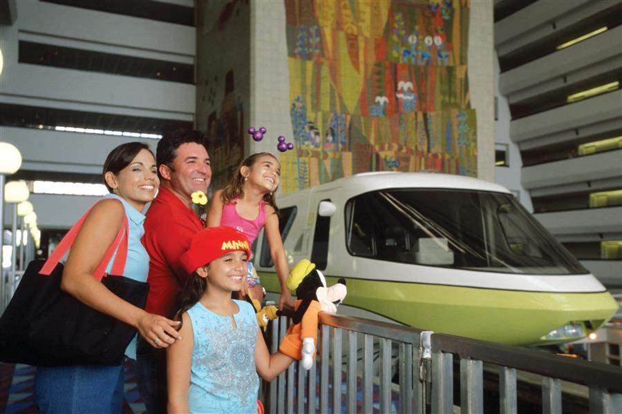 Disneys Contemporary Resort Family