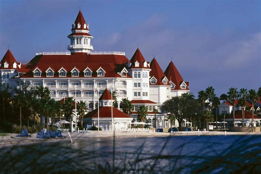 Disneys Grand Floridian Resort Spa Hotel Exterior