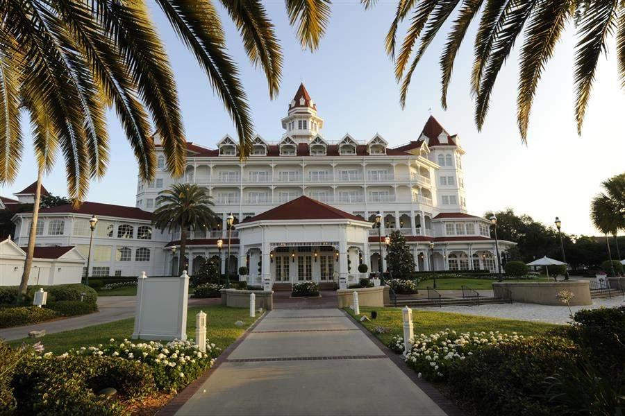 Disneys Grand Floridian Resort Spa Hotel Entrance