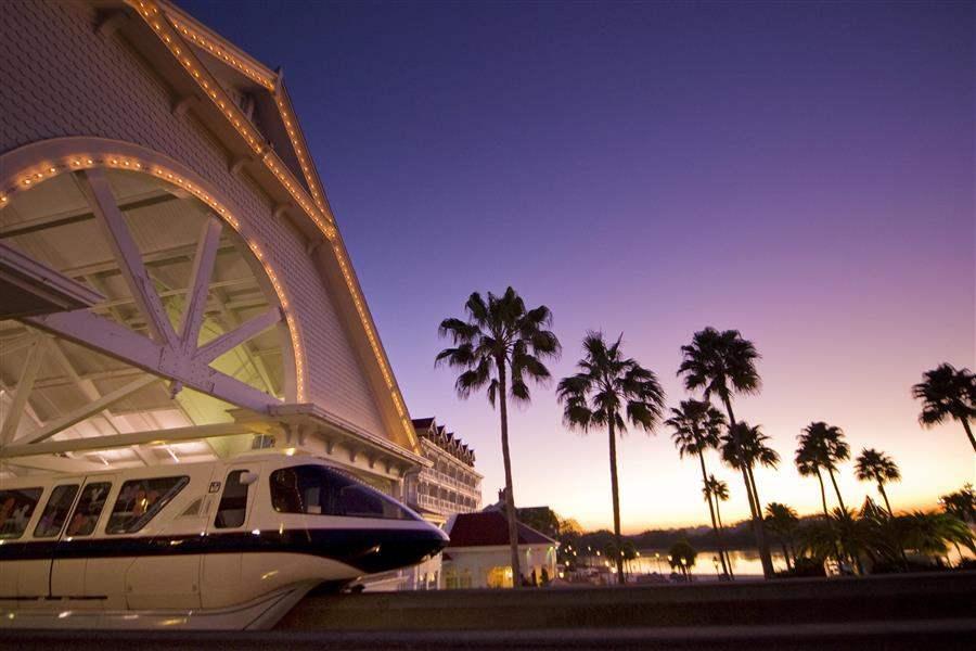 Disneys Grand Floridian Resort Spa Sunset
