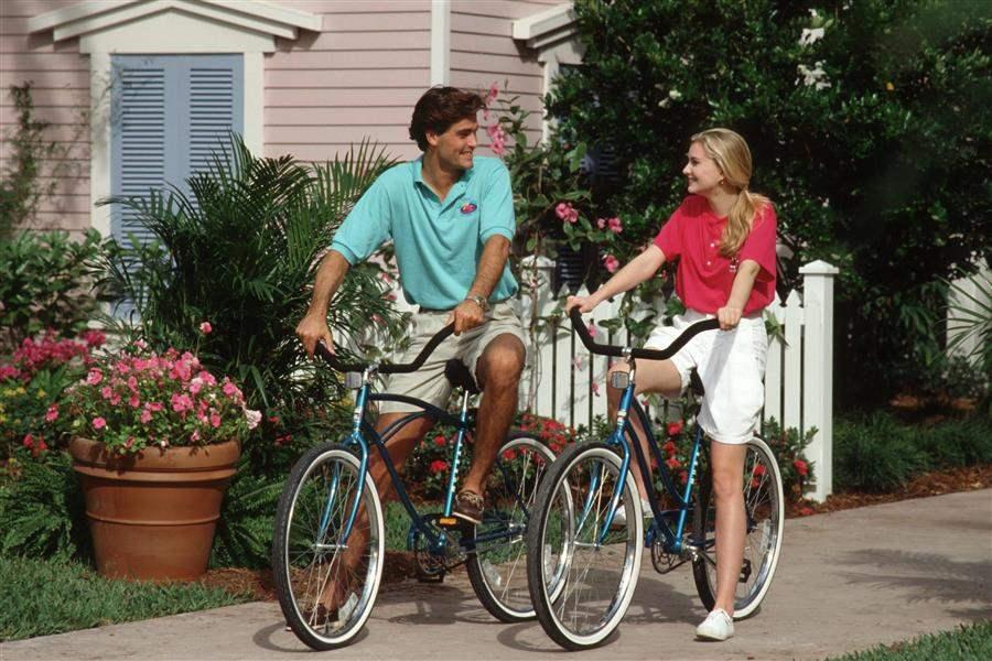 Disneys Old Key West Resort Cycling