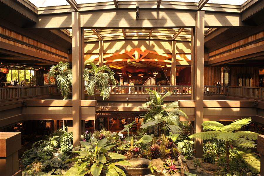 Disneys Polynesian Village Resort Lobby Area