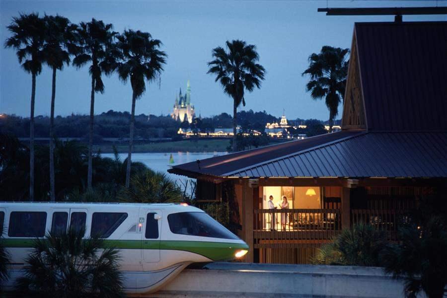 Disneys Polynesian Village Resort Monorail