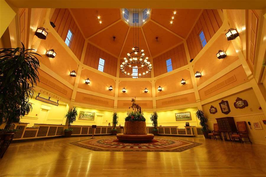 Disneys Saratoga Springs Resort Spa Lobby Area