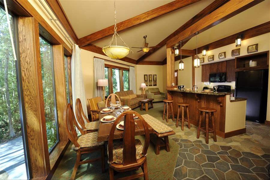 Disneys Saratoga Springs Resort Spa Cabin Interior