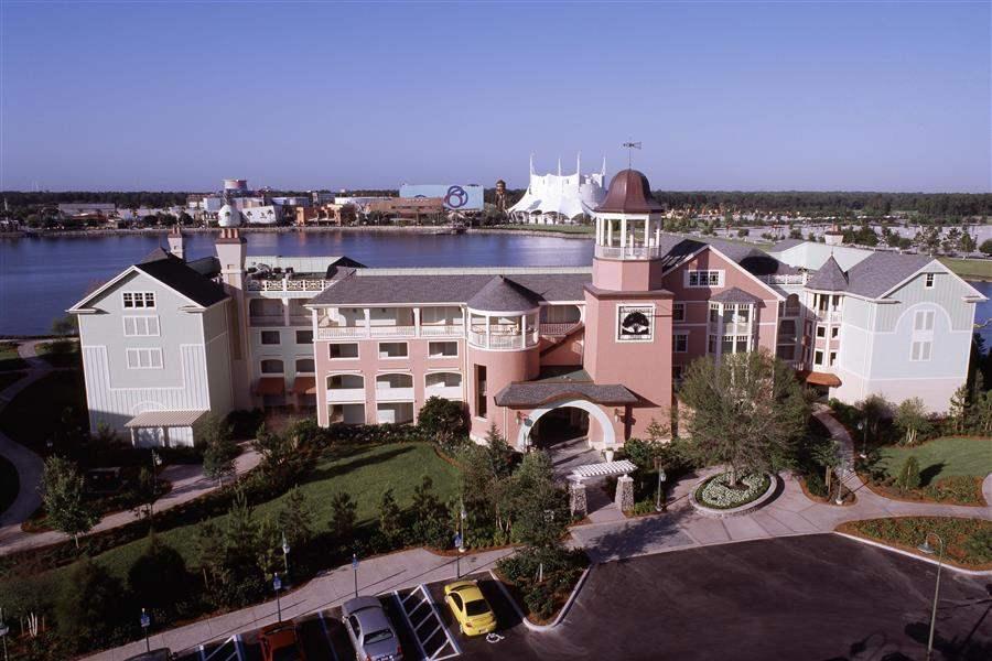 Disneys Saratoga Springs Resort Spa Resort Aerial