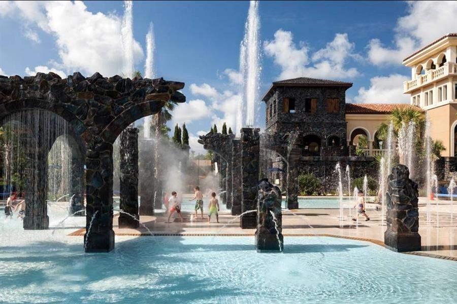 Four Seasons Resort Orlando Fountains