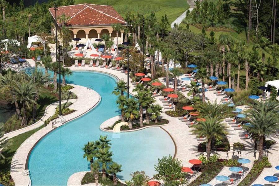 Four Seasons Resort Orlando Resort Aerial