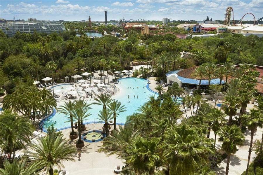 Hard Rock Hotelat Universal Orlando Resort Aerial