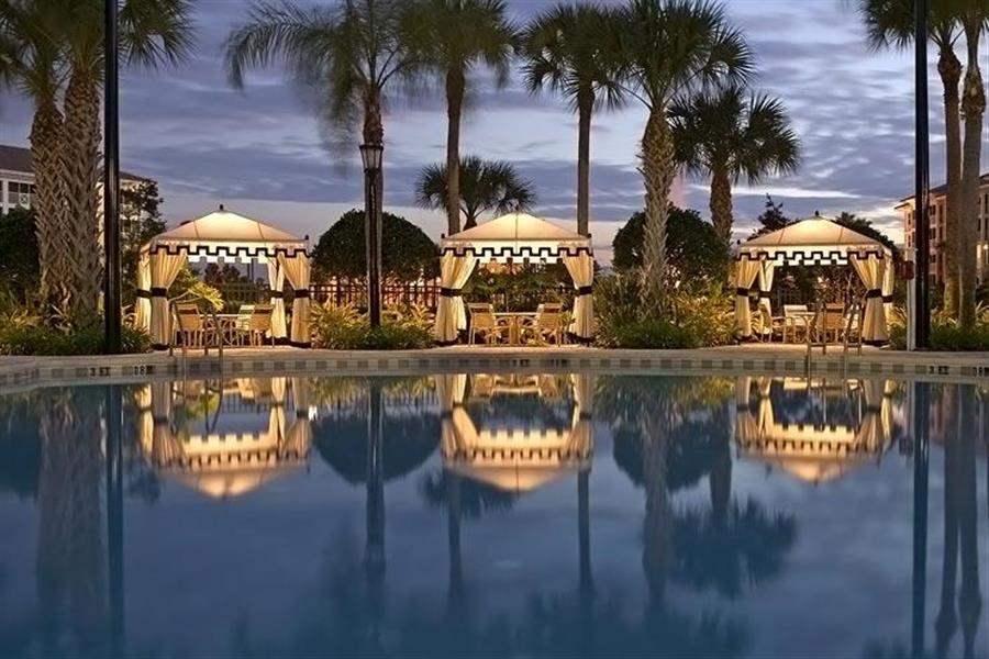 Sheraton Vistana Villages Resort Pool Night