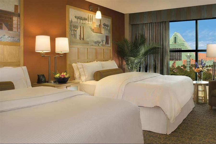 Walt Disney World Swan Resort Bedroom