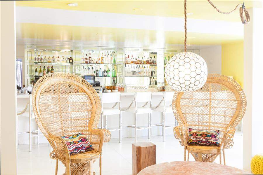 Avalon Palm Springs Bar Interior