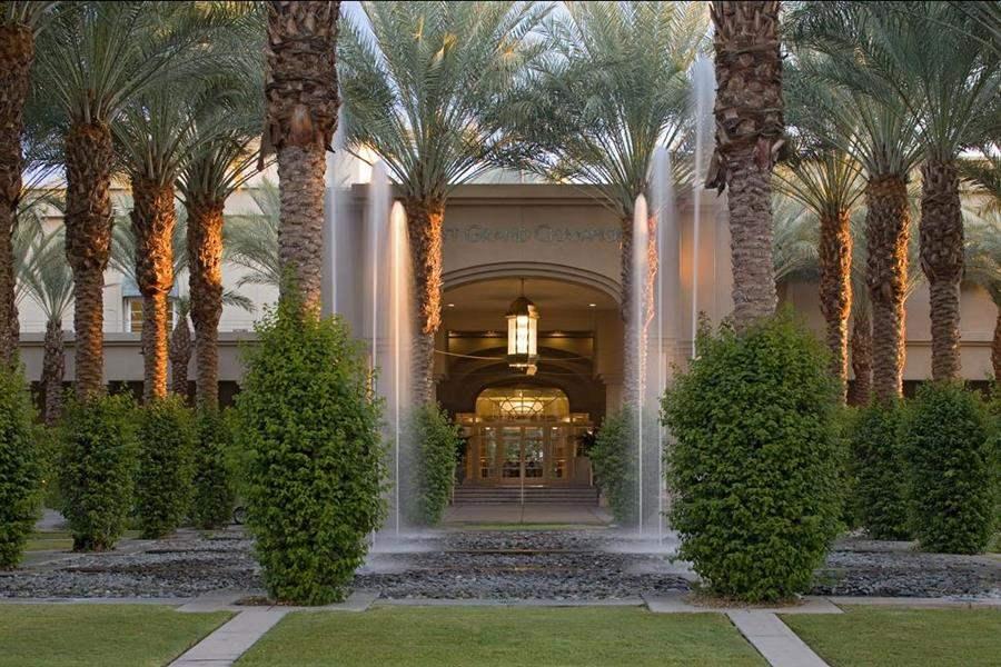 Hyatt Regency Indian Wells Resort Spa Hotel Entrance