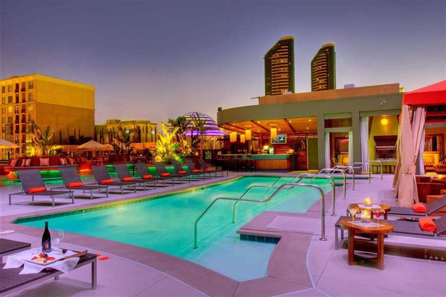 Hotel Solamar Pool Area