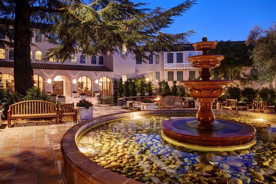 Fairmont Sonoma Mission Inn Fountain