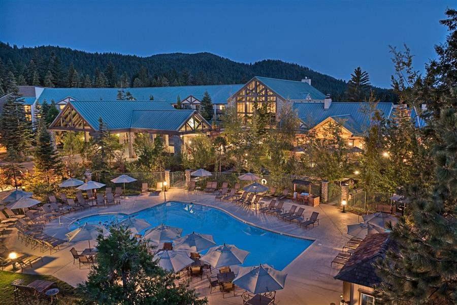 Tenaya Lodge Resort Aerial