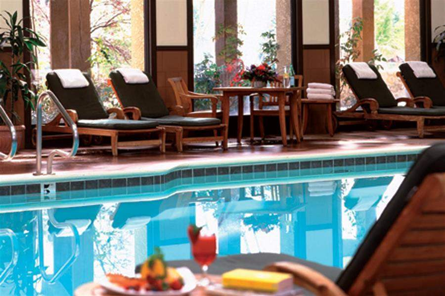 Tenaya Lodge Pool View